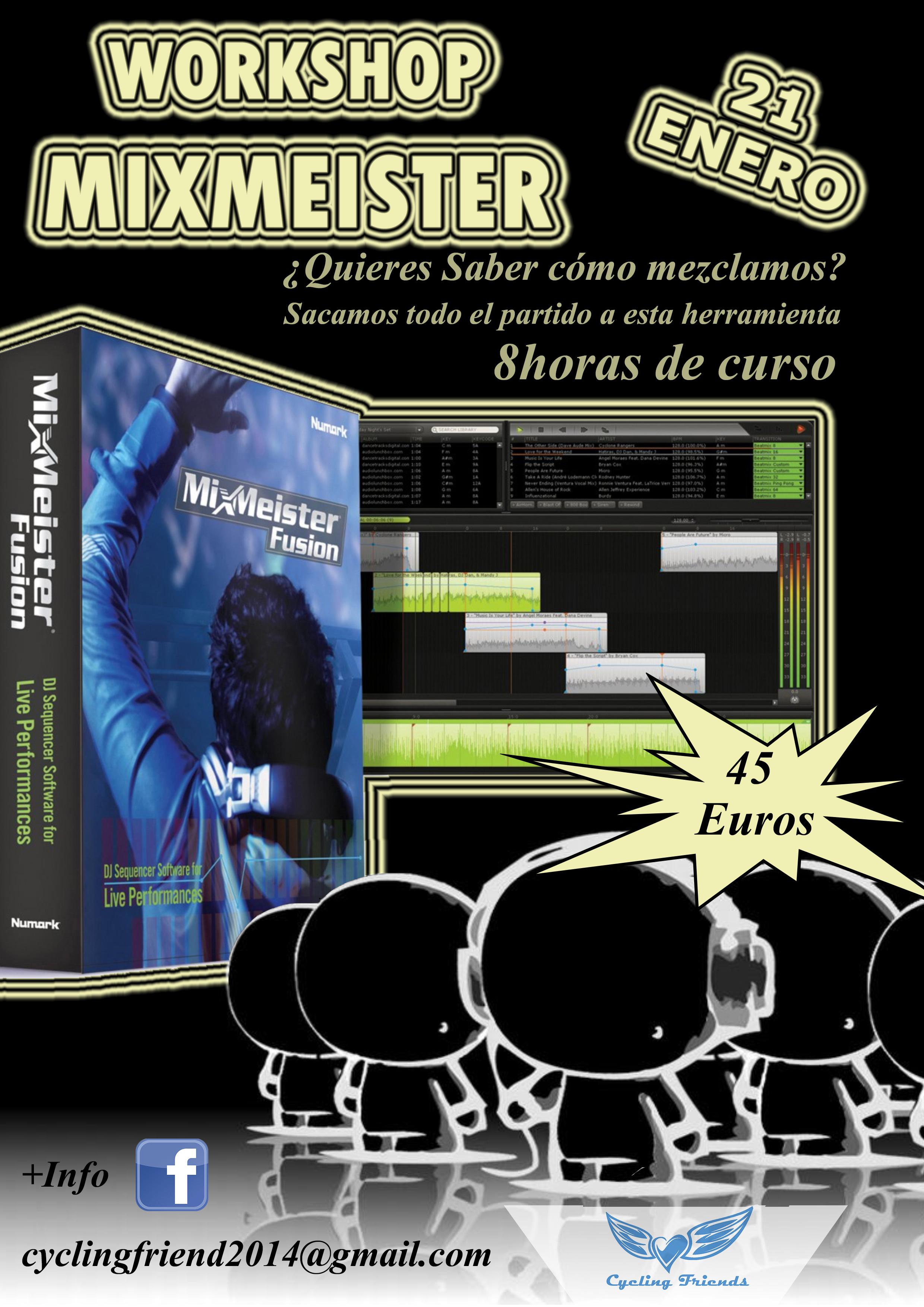mixmeister seminario workshop malaga ciclo indoor