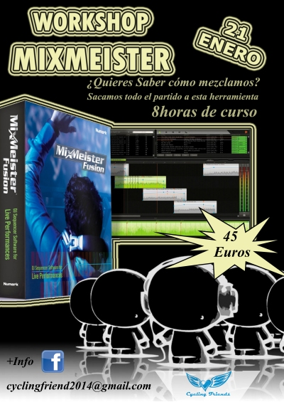 mixmeister seminario workshop malaga ciclo indoor