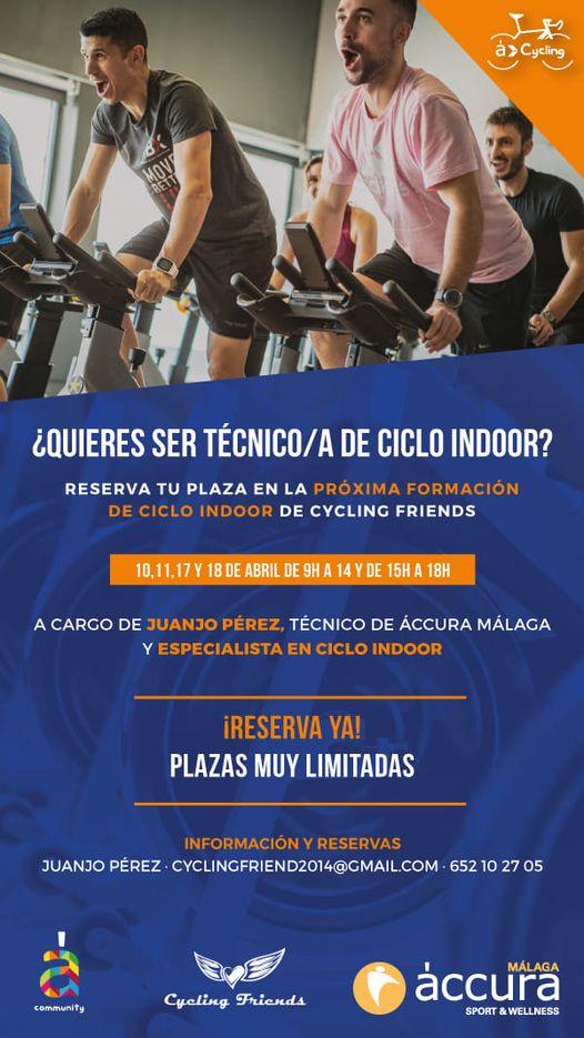 formacion ciclo indoor spinning Malaga